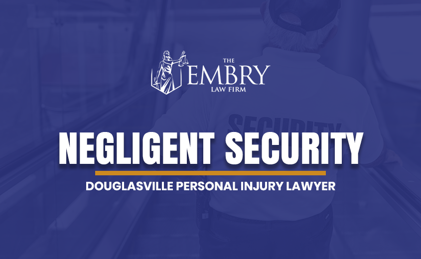 Douglasville Negligent Security Lawyer