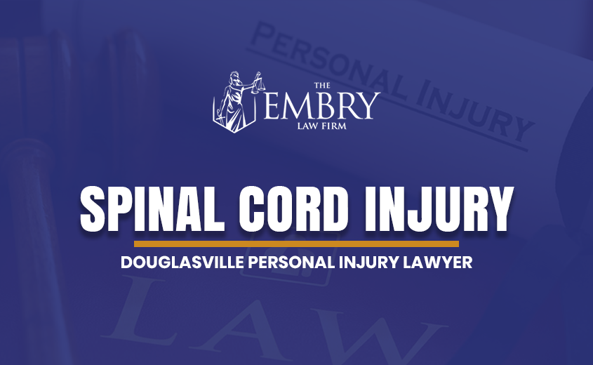 Douglasville Spinal Cord Injury Lawyer