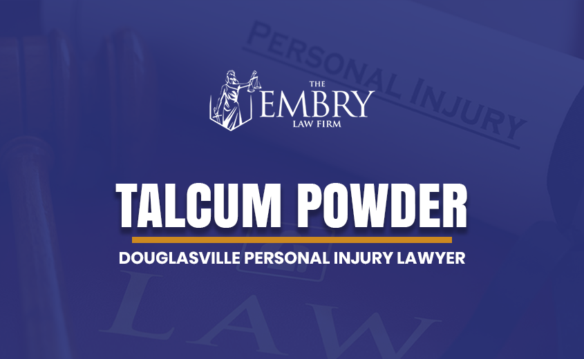 Douglasville Talcum Powder Lawyer